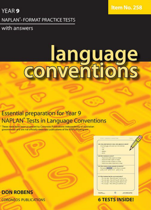 Naplan-Format Practice Tests with Answers:  Year 9 - Language Conventions