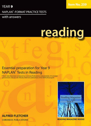 Naplan-Format Practice Tests with Answers:  Year 9 - Reading