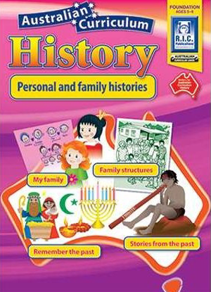 Australian Curriculum History:  Foundation - Personal and Family Histories