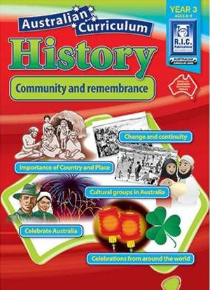 Australian Curriculum History:  Year 3 - Community and Remembrance