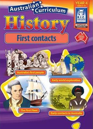 Australian Curriculum History:  Year 4 - First Contacts
