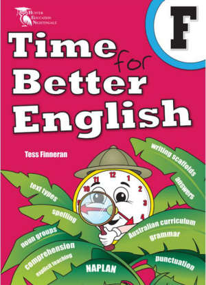 Time for Better English Book  F