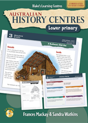 Australian History Centres:  Lower Primary + CD
