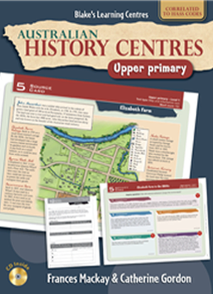 Australian History Centres:  Upper Primary + CD