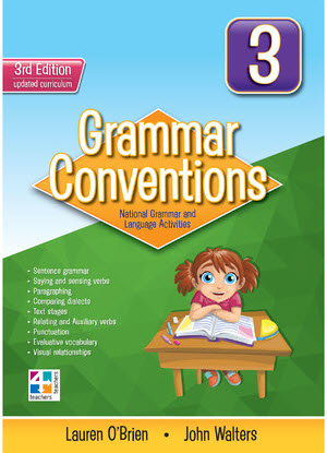 Grammar Conventions:  3 3rd edition