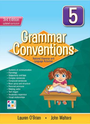 Grammar Conventions:  5 3rd edition