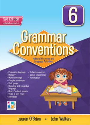 Grammar Conventions:  6 3rd edition