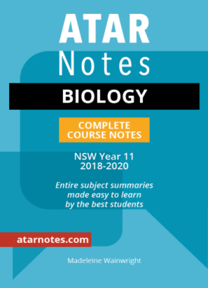 ATARNotes:  Biology - Complete Course Notes NSW Year 11 [2018-2020]
