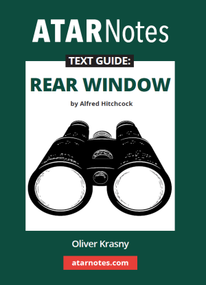 ATARNotes Text Guide:  Alfred Hitchcock's Rear Window