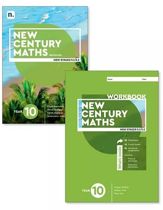 New Century Maths: 10 Stages 5.1/5.2 [Text, NelsonNet + Workbook]