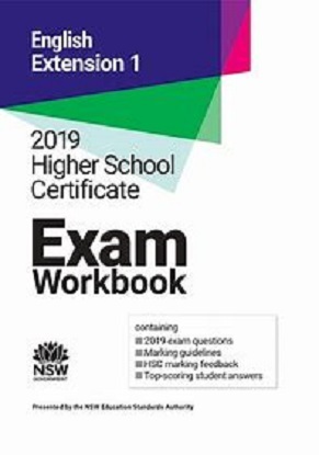 2019 HSC Exam Workbook:  English Extension 1