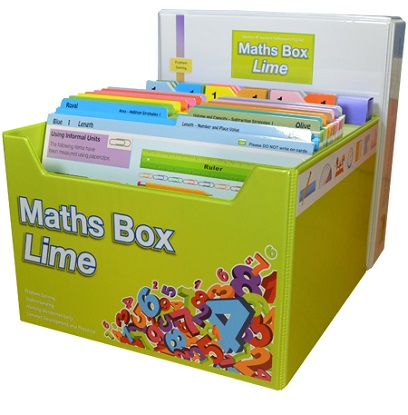 Maths Box Lime: Years 1-2/3
