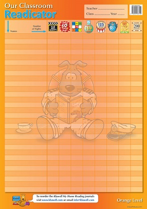 Our Classroom Readicator A2 Chart: Orange Level