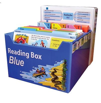 Reading Box Blue