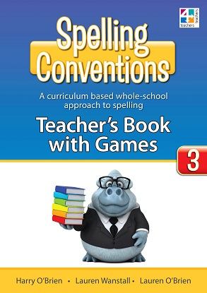 Spelling Conventions Teachers Book with Games 3