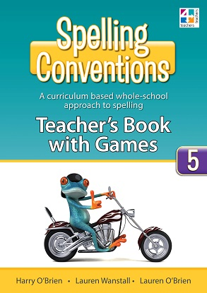 Spelling Conventions Teachers Book with Games 5