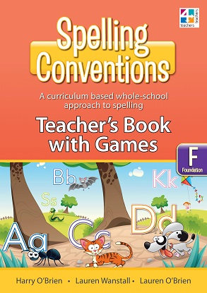 Spelling Conventions Teachers Book with Games F