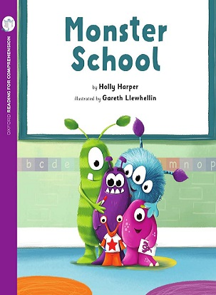 Monster School: Oxford Level 1+: Pack of 6