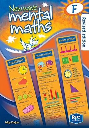 New Wave Mental Maths Book F Year 6