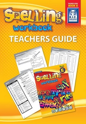 Spelling Workbook Teachers Guide Book E