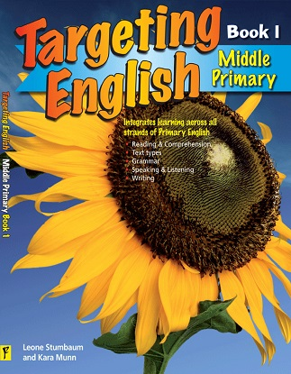Targeting English:  Middle Primary Student Workbook Book 1