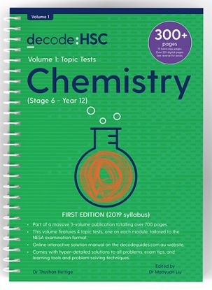 Decode HSC Chemistry Volume 1 Topic Tests