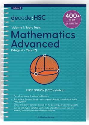 Decode HSC Maths Advanced Volume 1 Topic Tests