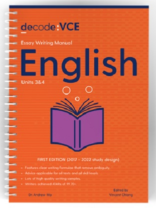 Decode-VCE-English-Units-3and4-9781922445070