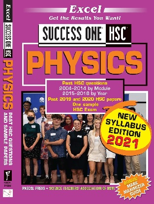 Excel Success One:  HSC Physics 2021 Edition