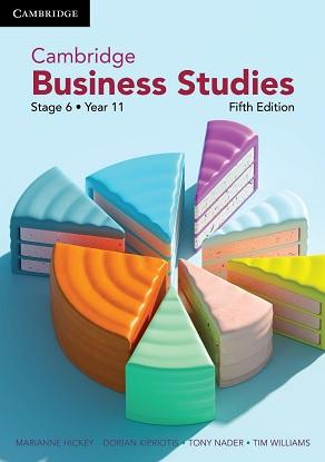 Cambridge Business Studies:  Year 11 5/e [Text + Interactive CambridgeGO]